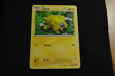 Pokemon JOLTIK XY Steam Siege 41/114 NM/Mint Never Played Cards