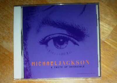 Michael Jackson - A Taste Of Invincible Rare Single Cd (esk56696 Didp-106828)
