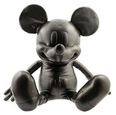 """Coach X Disney Large Leather Limited Edition Mickey Mouse 38"""" Plush Doll As New"""