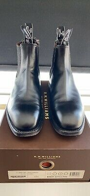 Rm Williams Comfort Craftsman Boot  Black Yearling