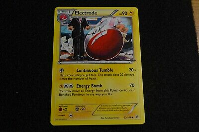 Pokemon ELECTRODE XY Roaring Skies 22/108 NM/Mint Never Played Cards