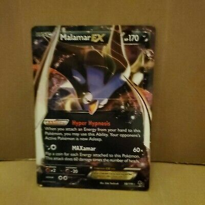 Malamar EX 58/119 XY Phantom Forces Full Art Ultra Rare Pokemon NM-M