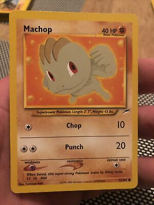 Machop 73/105 Neo Destiny - Common Pokemon Card - Mint!!!!!