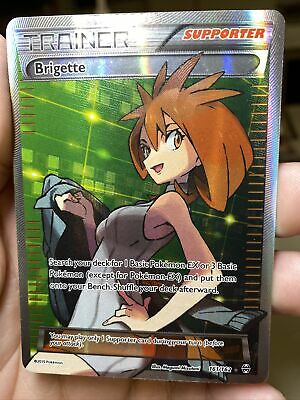 Brigette Full Art 161/162 Breakthrough Pokemon Card PL