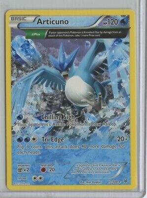Articuno – 17/108 – Pokemon XY Roaring Skies – Full Art Rare - NM-MT