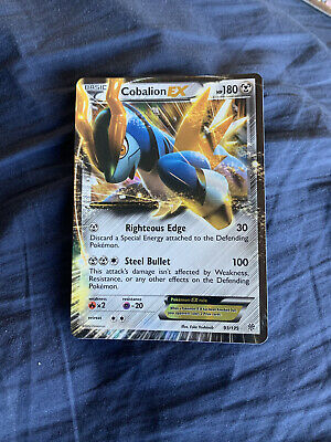 Pokemon TCG Black And White Plasma Storm Cobalion EX NM Holo Rare