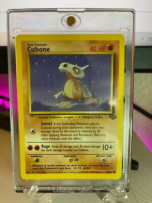Pokemon Cubone 50/64 Jungle Common Non Holo