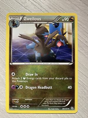 Zweilous 96/124 Pokemon Dragons Exalted
