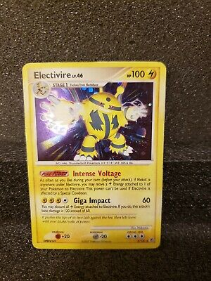 Electivire 3/130 HOLO Diamond & Pearl Set - Pokemon Card