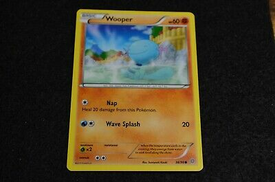 Pokemon WOOPER XY Ancient Origins 38/98 NM/Mint Never Played Cards