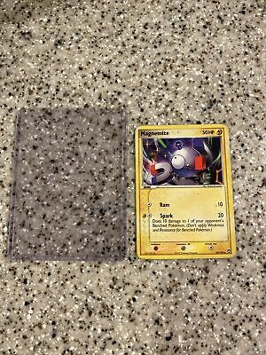 Magnemite 54/108 Pokemon Trading Card - ex Power Keepers - NM