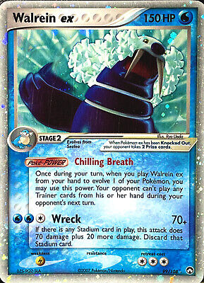 Pokemon WALREIN EX 99/108 EX Power Keepers HOLO ULTRA RARE 🌟 Great Condition 🌟