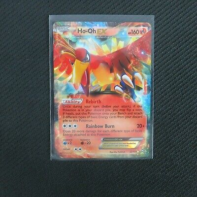 ULTRA RARE Ho-Oh EX Dragons Exalted Pokemon TCG Holo Foil Holographic LP