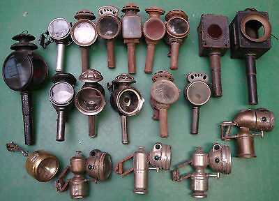 A Lot Of 19 Candle Acetylene Lamps Lighting Luxor Vita Vintage 10kg