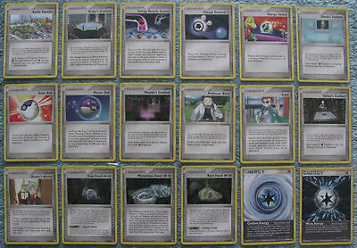 Pokemon TCG Choose One EX Power Keepers Trainer or Energy Card from List