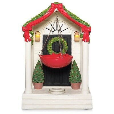 Yankee Candle  Holiday Festive Collection Welcome Friends~front Door Tart Warmer