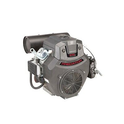22 Hp (670cc) V-twin Horizontal Shaft Gas Engine For Mower Pressure Washer Pumps