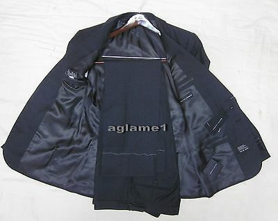 nwt polo ralph lauren black label italy made anthony suit 40 s 40s dark charcoal
