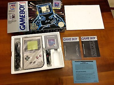 Nintendo Game Boy Original Console Mint Boxed Dmg-01 Gameboy Classic *new*