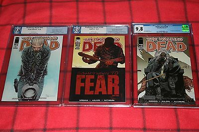 The Walking Dead 100 Pgx 9.9 1st Negan 108 Cgc 9.8 1st Ezekiel 91 Pgx 9.8 Jesus