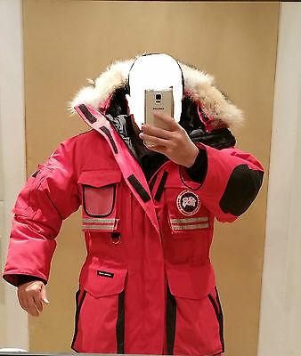 "2019 Latest Grey Label Edition ""red"" Canada Goose Snow Mantra Men L Parka Jacket"