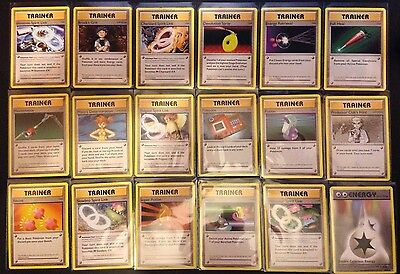 Evolutions Trainer & Energy Card Selection - Pokemon TCG XY