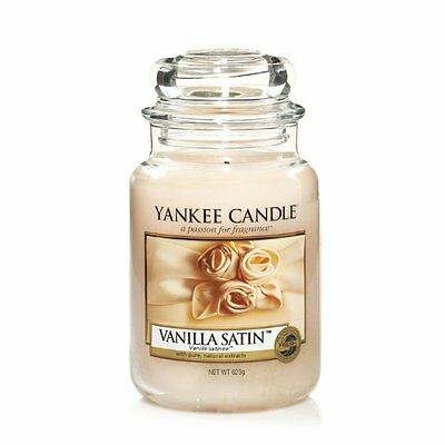 Yankee Candle - Vanilla Satin - 22 Oz - Great Fresh Scent!! -  Hard To Find!!