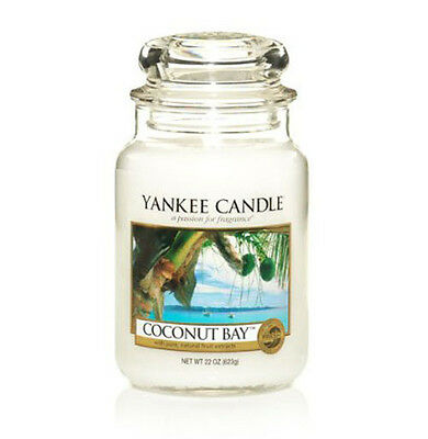 Yankee Candle - Coconut Bay - 22 Oz - Great Fresh Scent!! - Hard To Find!!
