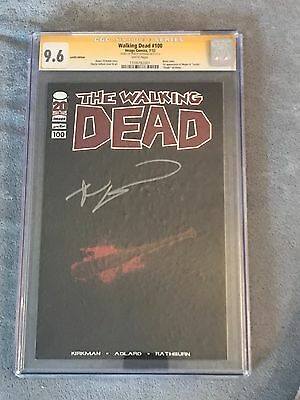 The Walking Dead #100 Lucile Edition Signed 9.6 Cgc