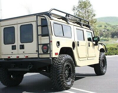 Hummercore Hummer H1 Rear Ladders Right Side