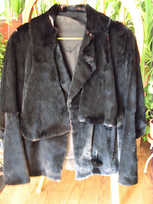 Fur Coat Rare Fur Handmade Very Unique  Extreme Find Pre 1930