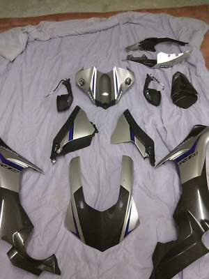 15-17 Yamaha Yzf R1m R1 Full Carbon Fiber Fairing Bodywork Set Kit Plastics Oem