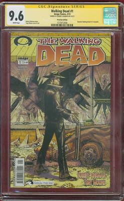 Walking Dead 1 Cgc Ss 9.6 Robert Kirkman Peru Variant 1 Tv Show No 8 Amc