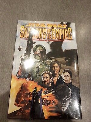 Star Wars Shadows Of The Empire Limited To 1000 Signed Numbered Hardcover