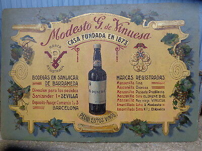 Wine Poster 40 Years Of Wines Of Andalucia
