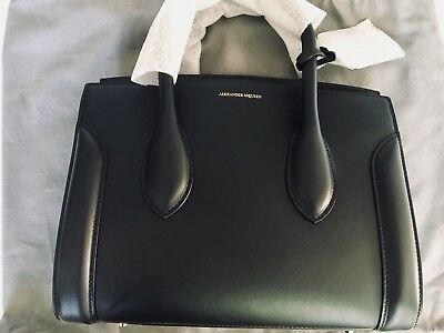 new genuine alexander mcqueen heroine 30 bag black pick up only