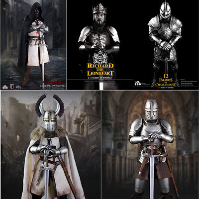 5pcs Coomodel Coo 1/6 Teutonic Knights Du Temple Charlemagne Lionheart Sold Out