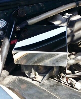 Fits Impala 1994-1996 Stainless Steel Fuse Box Cover Fleetwood Roadmaster Chrome