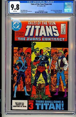 Tales Of The Teen Titans #44 Cgc 9.8 Dc 1984 1st Nightwing! Deathstoke H7 152 Cm
