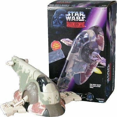 Star Wars Boba Fett Slave I With Han Solo In Carbonite Shadows Of The Empire New