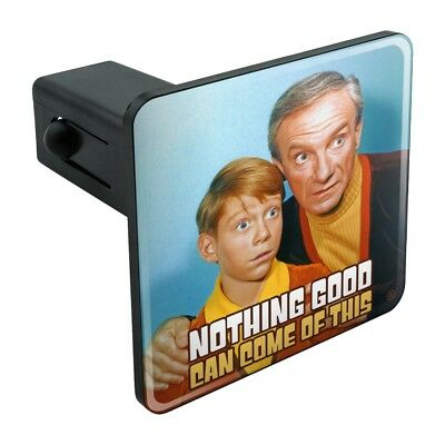 Nothing Good Come Of This Lost In Space Tow Trailer Hitch Cover Plug Insert