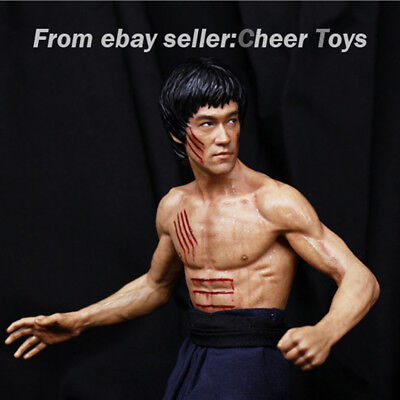 Only Show Bruce Lee 77th Anniversary Collection Model Statue China.x-h Has Sold