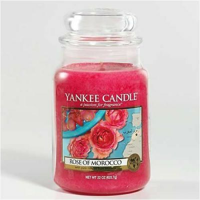 Yankee Candle - World Journeys - Rose Of Morocco - 22 Oz -  Very Rare!!!