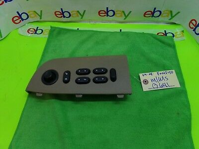 👌2004-08 Ford F150 Master Power Window Switch 4l3t-14b133-bkw