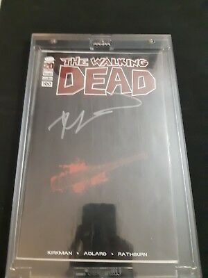 Walking Dead #100 Lucille Variant **signed Robert Kirkman** 1st Negan