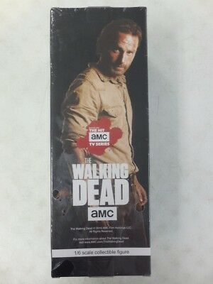 Threezero  Amc  Walking Dead Rick Grimes 1/6 Scale Action Figure  Mib Hot Toys