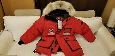 "2019 Latest Grey Label Tag ""red"" Canada Goose Snow Mantra Men Large Parka Jacket"