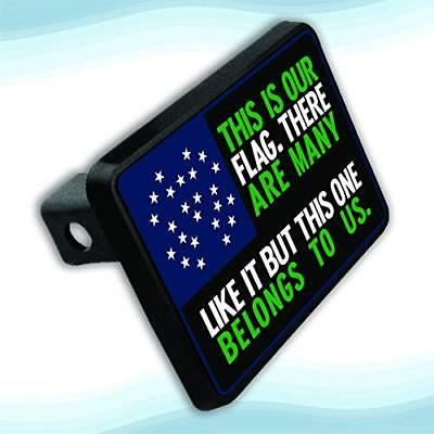 Apedes Nypd This Is Our Flag Hitch Plate For 2
