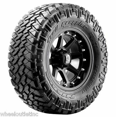 4 New Lt 285/55r22 Nitto Trail Grappler Mt Tires 124q Lre 285/55/22 205-900
