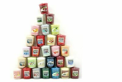 40 Official Yankee Candle Votive Samplers Assorted Fragrances Full Classic Range